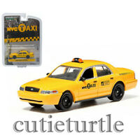 1:64 GreenLight *HOBBY EXCLUSIVE* 2013 Ford Fusion NYC New York TAXI CAB *NIP*