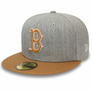 New Era 59Fifty Fitted Cap - HEATHER Boston Red Sox