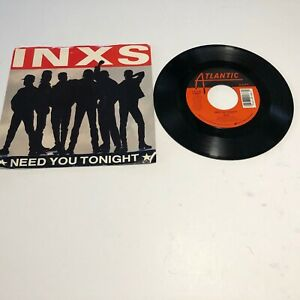 KB008 45RPM w/ pic slv INXS Need you tonight / I'm coming home Atlantic 89188