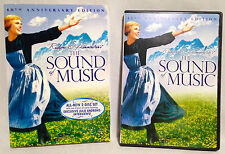The Sound of Music (2-Disc 40th Anniversary DVD, 1965) Julie Andrews, LIKE NEW