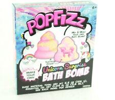 Popfizz Unicorn Surprise Bath Bomb New