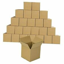 Shipping Boxes Corrugated Boxes Recyclable Boxes For Small 4 X 4 X 4 Brown