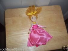DISNEY STORE PLUSH DOLL FIGURE PRINCESS SLEEPING BEAUTY SOFT AURORA RAGDOLL TOY