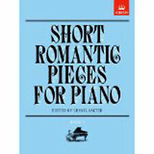 Short Romantic Pieces Solo Piano Book II Grade 3-4 Music ABRSM Edited Salter B62