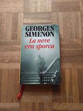 La Neve Era Sporca - Georges Simenon - Club Degli Editori - 1992