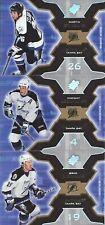 New listing Martin St. Louis Vincent Lecavalier Brad Richards 2006-07 Upper Deck SPX Cards 3