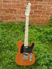 Squier by Fender Affinity Butterscotch Telecaster Tele Electric El Guitar #5006