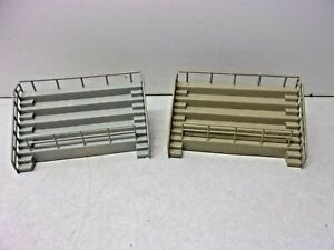 TWO 1:32 1:24 SLOT CAR TRACK GRANDSTAND BLEACHER PROJECTS, NEED PAINT