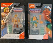 Master of the Universe He-Man #1 & Men-at-Arms #4 MEGA Construx Heroes