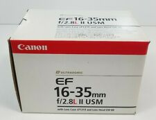 Canon Ultrasonic EF 16-35mm f/2.8L II USM BOX ONLY w/ Bar Code #01 USED