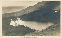 WHITE MOUNTAINS NH - The Lakes Of The Clouds Real Photo Postcard rppc