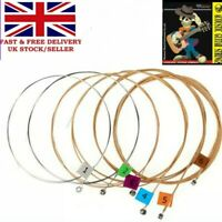 Guitar Strings ACOUSTIC/ SEMI 13-54s Medium Gauge Bronze wound/steel tiger