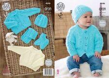 Girls Baby Items Crocheting & Knitting Patterns Aran