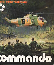 WESTLAND COMMANDO HELICOPTER MANUFACTURERS SALES BROCHURE