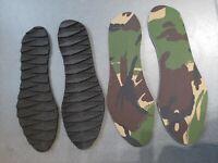 2 pairs Goretex Thermal insulating, waterproof, cushioned, hiking boot insoles.