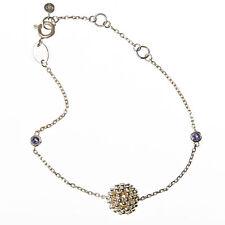 Links Of London Sterling Silver Effervescence Bubble Ball Bracelet Damaged Box