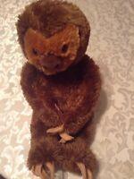 New Build A Bear Sloth BAB 18 inch  plush stuffed brown