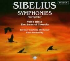 Sibelius / Kurt Sanderling - Symphonies / Valse triste 5CD NEU OVP