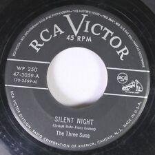 Christmas 45 The Three Suns - Silent Night / Jingle Bells On Rca Victor