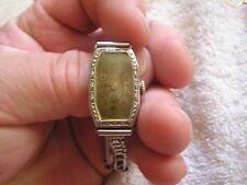 Vintage Tavannes Art Deco Women's Ladies Watch 15 Jewels 14K Gold Filled