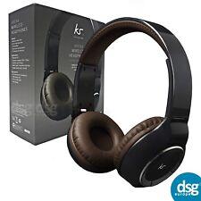 Kitsound Arena Wireless Bluetooth Premium Headphones with Mic and Controls