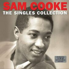 SAM COOKE THE SINGLES COLLECTION 2 LP RECORD SET -  LIMITED EDITION RED VINYL
