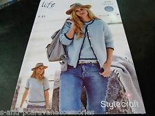 Stylecraft 4 Ply Knitting Pattern 9191 (81/86 - 122/127)cms 2 Easy knit designs