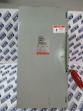 Westinghouse Gfn323n 100 Amp 240v 1p2w Fusible Vintage Disconnect