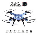 X5HC Drone 2.0MP HD Camera Kids Toy Quadcopter Colorful LED with 4GB SD