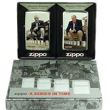 Zippo fundador set Limited Edition, Blaisdell, Duke 2 zippos 2003719 nuevo