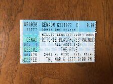 RITCHIE BLACKMORE'S RAINBOW concert ticket stub The Rave 1997 Milwaukee, WI