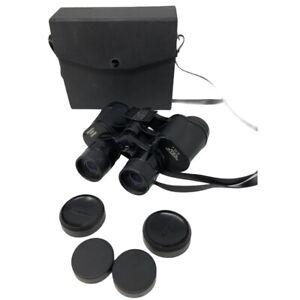 Bushnell Binoculars Insta-Focus Zoom Lens 7-15X35 with Case