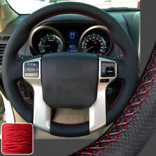 Steering Wheel Cover DIY Sew Wrap for Toyota Tacoma Tundra 4Runner Sequoia 14-17