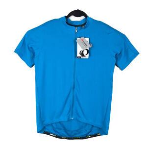 Pearl Izumi Mens 2XL Blue Select Pursuit Full Zip Cycling Jersey XXL NWT