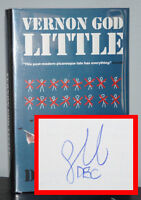 DBC Pierre - Vernon God Little - SIGNED 1st 1st - BOOKER PRIZE - NR