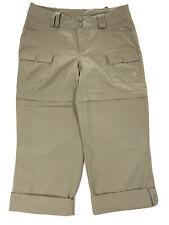 The North Face Womens Size 2 Khaki Paramount Porter Trail Convertible Pants