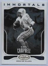 2017 Panini Certified Earl Campbell #129 Immortals Houston Oilers/Titan Football