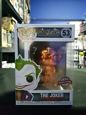 Batman The Joker 53 Orange Chrome Special Edition FUNKO POP Vinyl