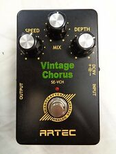 ARTEC Vintage Chorus Effects Pedal SE-VCH