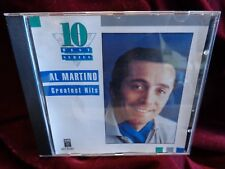 SIGNED by Al Martino ‎– Greatest Hits ~ Canada import CD ~ CEMA 1990 ~ S21 57361