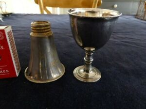Vintage Silver Plated/EPNS Egg Cup lot (2)