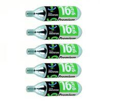 5-Pack Genuine Innovations Threaded CO2 Refill Cartridges 16g