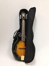 Caraya MA-007EQ Mandolin Spruce+Maple,F-Style,Sunburst w/EQ+Free Gig Bag,3 Picks
