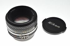 Nikon Nikkor 50mm f/1.8 Ai-s lens. MINT condition. The sharpest lens ever made!
