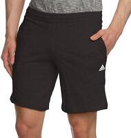 Mens New Adidas Jersey Climalite Shorts Training Fitness Sports Gym - Black