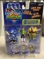 Hasbro Butt-Ugly Martians Mini Figure 3 Pack Fleaboid Cedric Tech officer 2