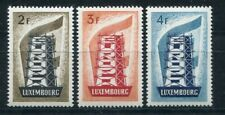 D112381 Europa Cept 1956 Rebuilding Europe Mnh Luxembourg Sc. 318-320