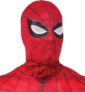 ADULT MARVEL COMIC SUPER HERO SPIDERMAN FABRIC MASK COSTUME ACCESSORY RU34500