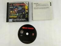 Jeu Playstation 1 PS1 VF  Judge Dredd  avec notice  Envoi rapide et suivi