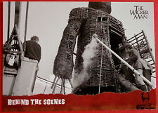 THE WICKER MAN Card # 49 individual card, issued in 2014 by Unstoppable Cards